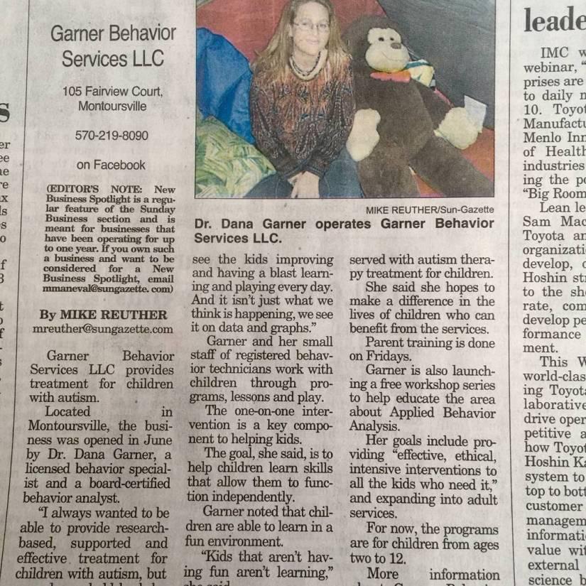 article in newspaper jan 2018